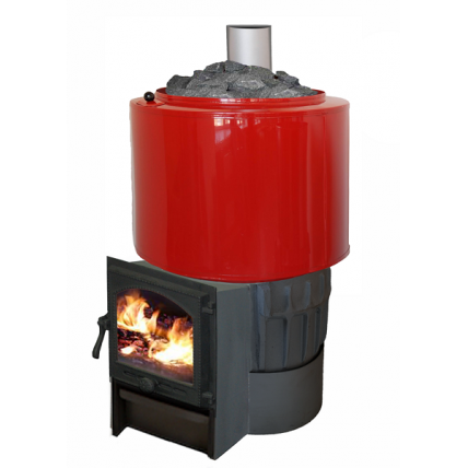 Печь чугунная Карелия 2  бак на 60л, 20 кВт - ПечиМАКС