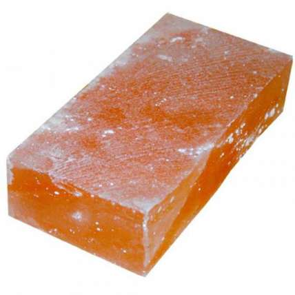Соляной кирпич 200х100х50 гладкий - ПечиМАКС
