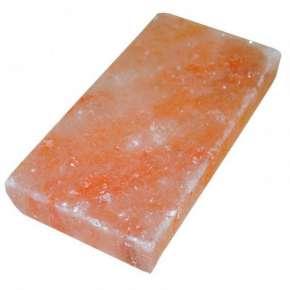 Соляная плитка 200х100х25 гладкая