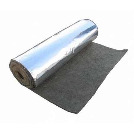 Базальт. иглопробивной мат БИМ- 8 (фольга) 12м/рулон 50мкм - ПечиМАКС