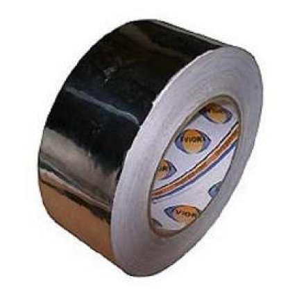Скотч алюминиевый (липлент) МА 50мм*50м - ПечиМАКС