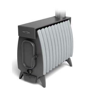 Печь Огонь-Батарея 11 ЛАЙТ антрацит-серый металлик ТМФ (Термофор)
