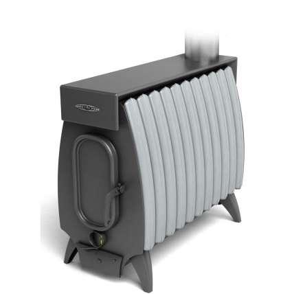 Печь Огонь-Батарея 11 ЛАЙТ антрацит-серый металлик ТМФ (Термофор) - ПечиМАКС