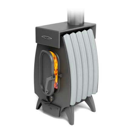 Печь Огонь-батарея 5 ЛАЙТ антрацит-серый металлик ТМФ (Термофор) - ПечиМАКС