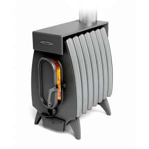 Печь Огонь-батарея 7 ЛАЙТ антрацит-серый металлик ТМФ (Термофор)