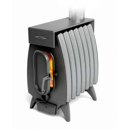 Печь Огонь-батарея 7 ЛАЙТ антрацит-серый металлик ТМФ (Термофор) - ПечиМАКС