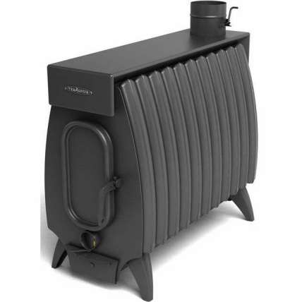 Печь Огонь-батарея 9 Лайт антрацит ТМФ (Термофор) - ПечиМАКС