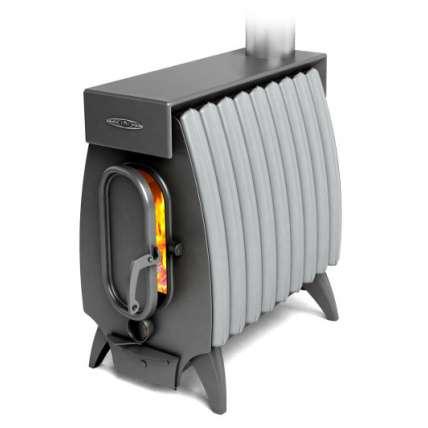 Печь Огонь-батарея 9 ЛАЙТ антрацит-серый металлик ТМФ (Термофор) - ПечиМАКС