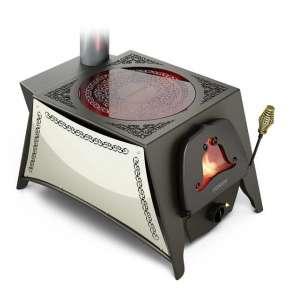 Печь Селенга со стеклокерамикой