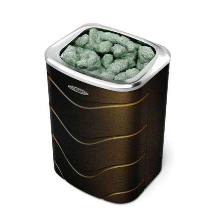 Печь Примавольта 9 кВт черная бронза - ПечиМАКС