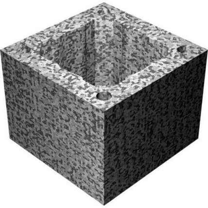 Блок одноходовой Tona (Тона) М16 (34х34х25) - ПечиМАКС