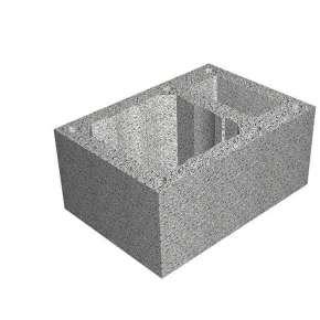 Блок одноходовой Tona (Тона) с вентканалом ML20/18 (38х54х25)
