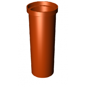 Керамический дымоход Tona (Тона) TTR12-100