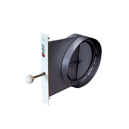 Шибер Tona (Тона) диаметр 160 мм - ПечиМАКС