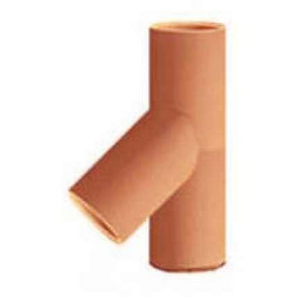 Керамический тройник 45° Tona(Тона) TTRA16-45 FP - ПечиМАКС