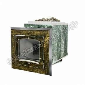 Чугунная печь для бани Калита (дверца с кованной отделкой)