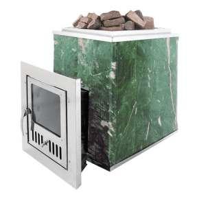 Чугунная печь для бани Калита (дверца нержавеющая сталь)